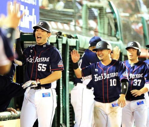 秋山22号逆転満塁ホームラン